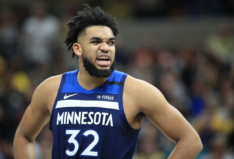 Karl-Anthony Towns would be hoping for some roster additions this offseason