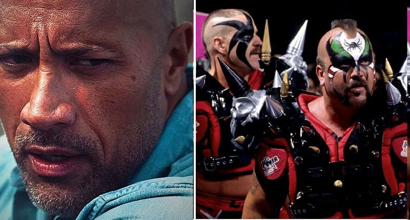 The Rock and The Road Warrior Animals