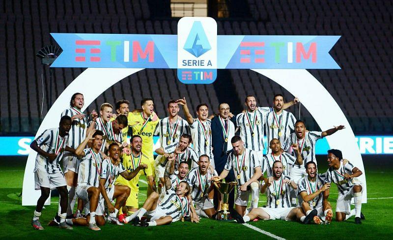 Juventus won their 36th Serie A title last season.