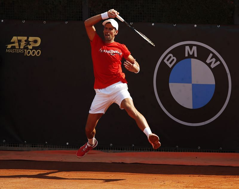 Novak Djokovic leads Caruso by 1-0 in the H2H