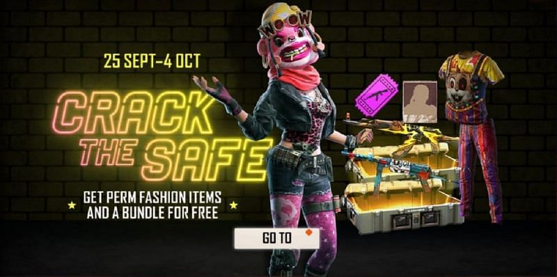 Crack the Safe is one of the newest events that have been added to Free Fire