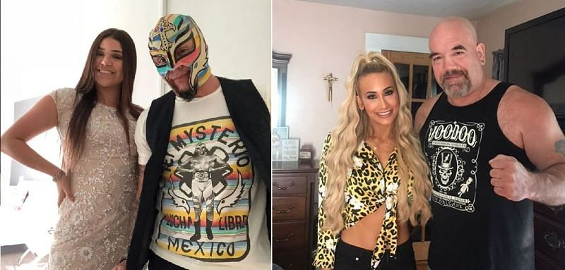 There are several daughters of WWE stars on the current roster