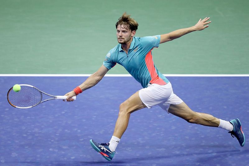 David Goffin at the 2020 US Open