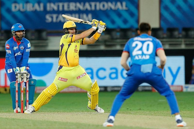 Watson got out off Axar Patel for the 6th time in the IPL [PC: iplt20.com]