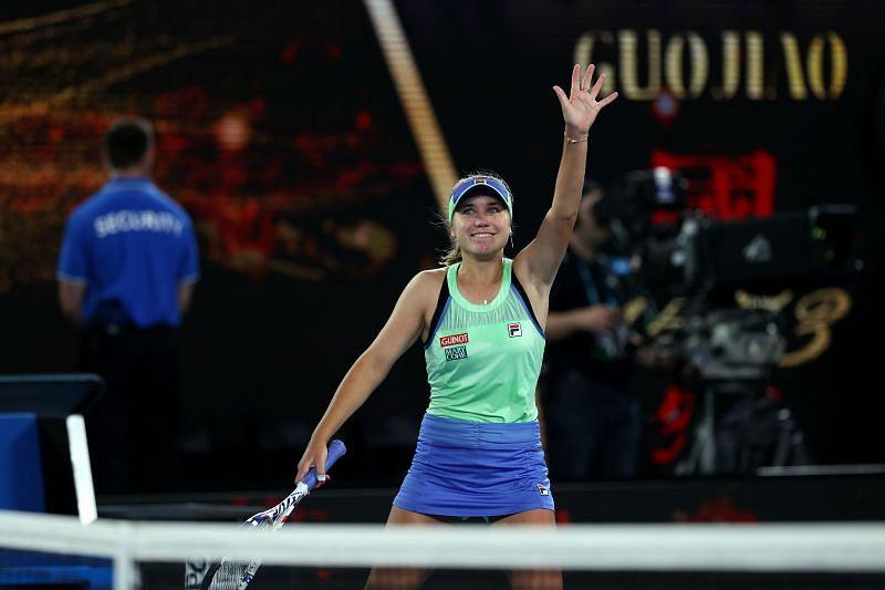 Sofia Kenin at the 2020 Australian Open