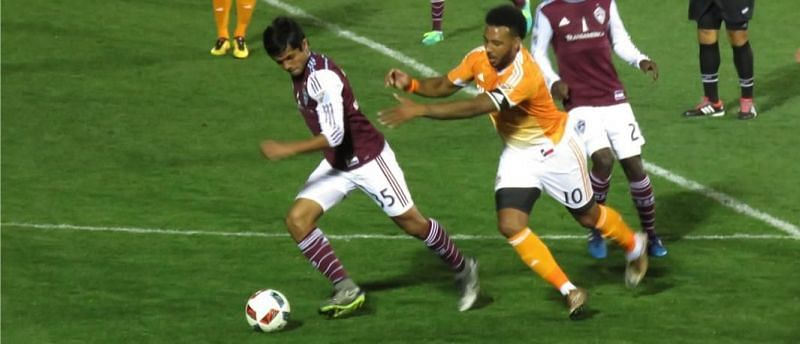 The Colorado Rapids take on the Houston Dynamo. Image Source: Colorado Rapids