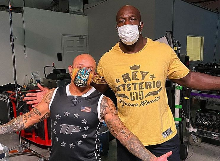 Rey Mysterio and Titus O
