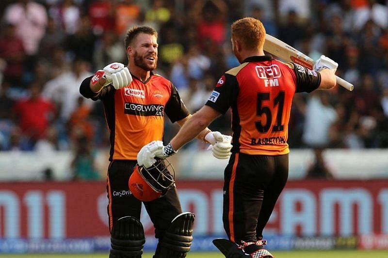 Warner and Bairstow in IPL 12