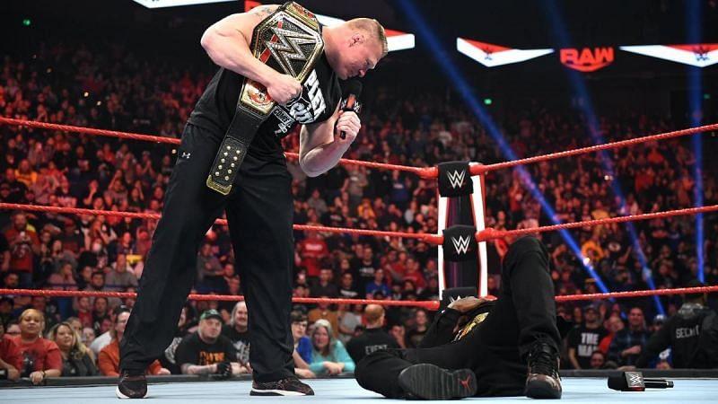 Brock Lesnar in WWE