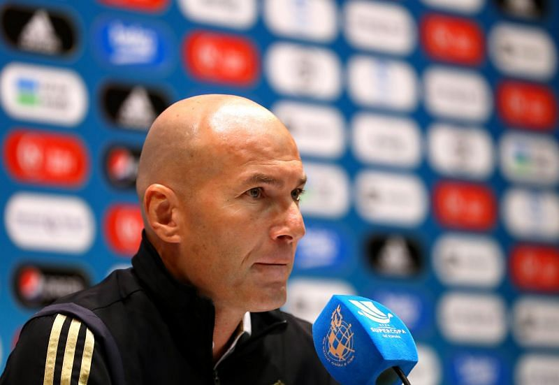Zinedine Zidane has excluded Jovic from his plans this season.
