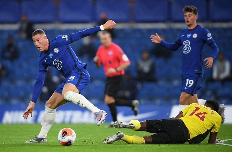Chelsea and Aston Villa in talks over Ross Barkley loan move