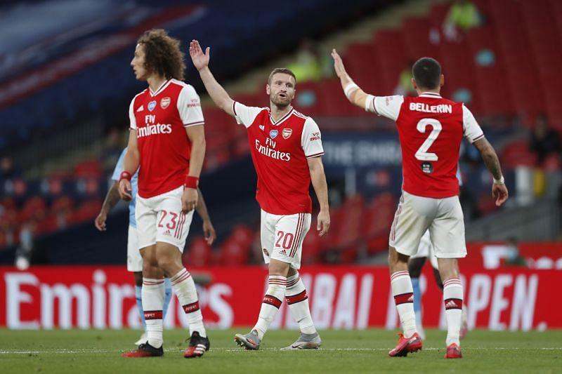 Shkodran Mustafi is unavailable for Arsenal