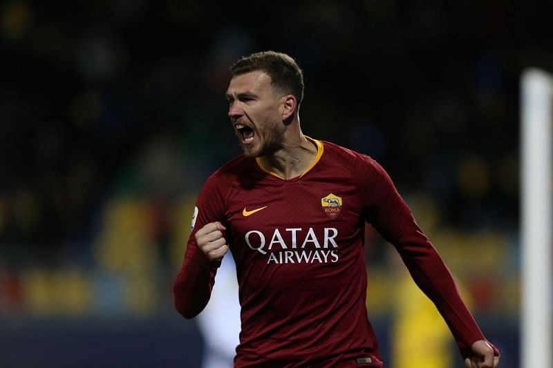 Edin Dzeko could become a Juventus player this month
