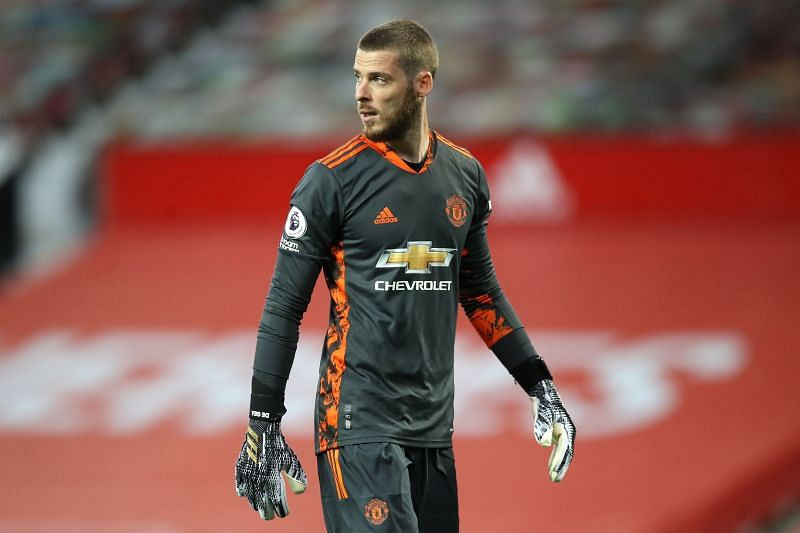 Manchester United goalkeeper David de Gea had a decent game against Crystal Palace
