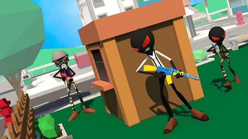 Stickman Battle Royale (Image credits: APKPure.com)