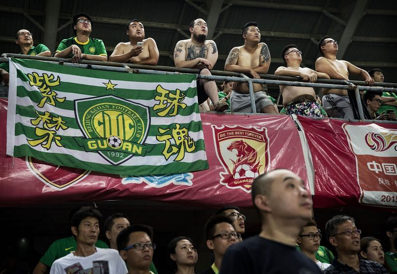 The Chinese Super League is growing in popularity
