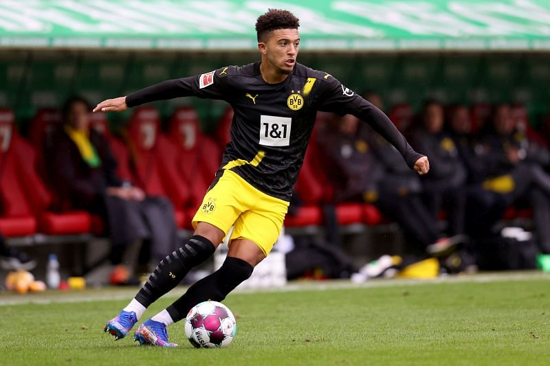 Dortmund star Jadon Sancho is Manchester United