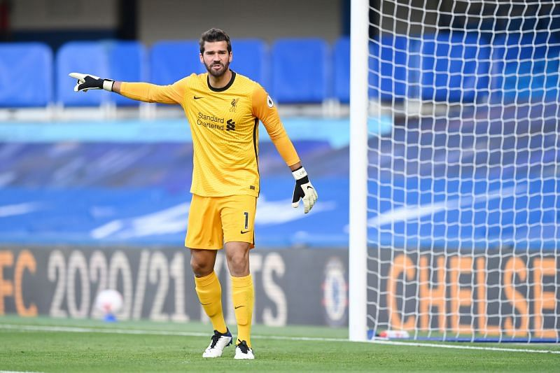 Alisson could be missing for the Reds