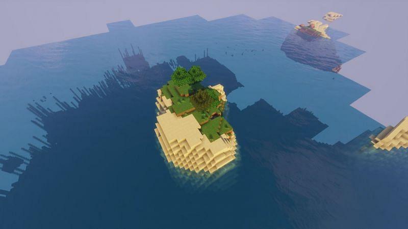 Small Island (Image credits: Minecraft-seeds.com)
