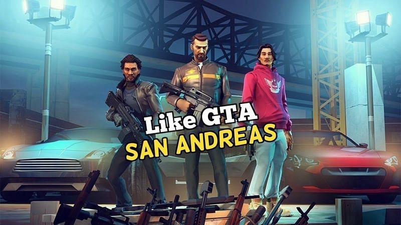 Games like GTA: San Andreas for mobile phones. Image: AK Phone Tech (YouTube).