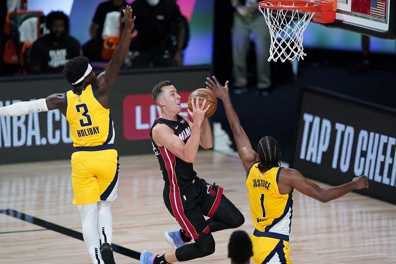 Duncan Robinson has been a surprise this NBA season.