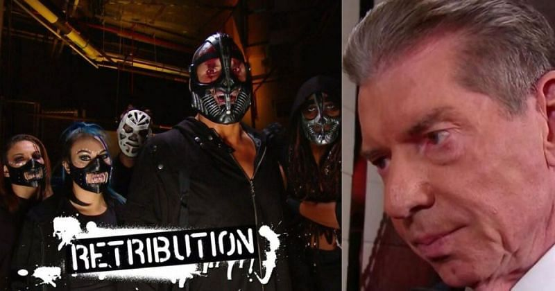 RETRIBUTION and Vince McMahon.