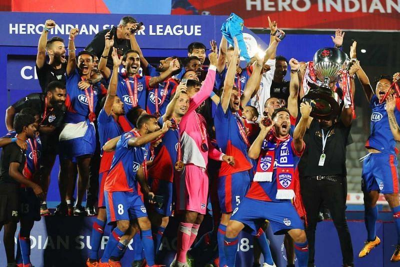 BFC winning the title