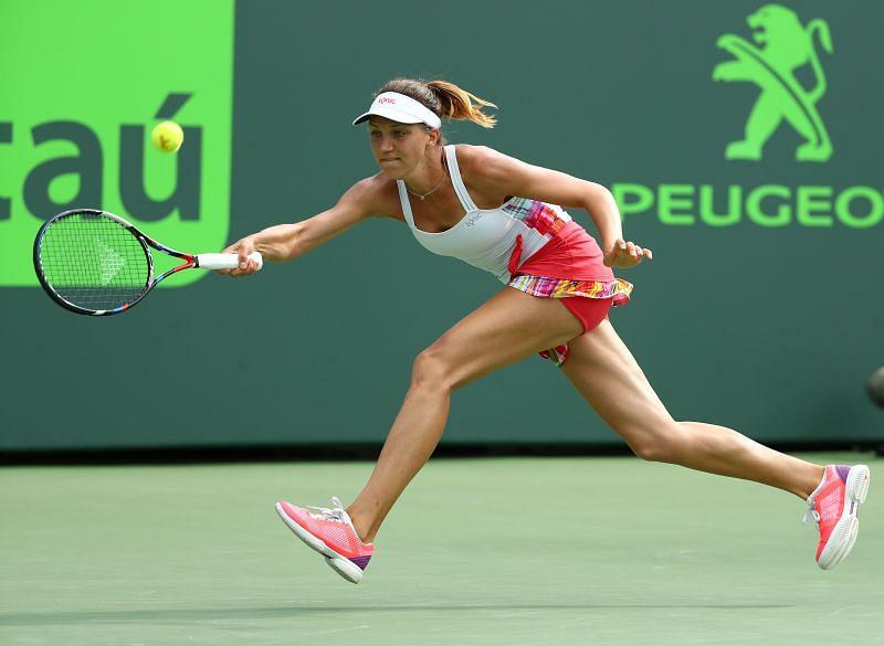 Patricia Maria Tig at the 2017 Miami Open
