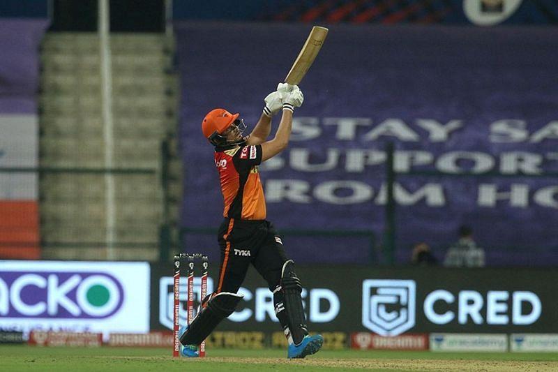 Abdul Samad in action during IPL 2020 (Image Credits: IPT20.com)