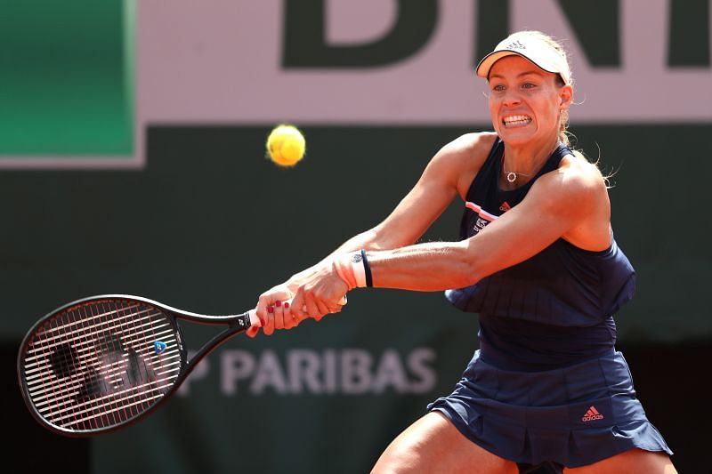 Angelique Kerber has reached the quarter-finals of the French Open on two occasions in her career so far