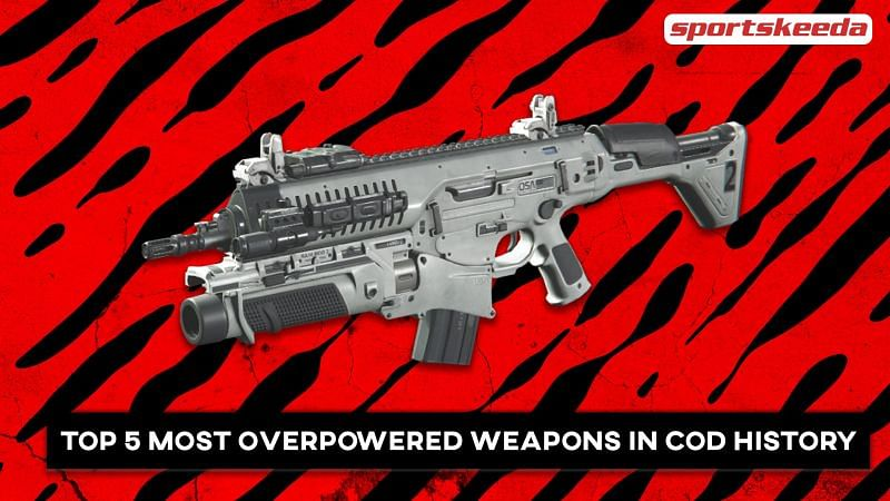 A look at some excessively powerful weapons in COD