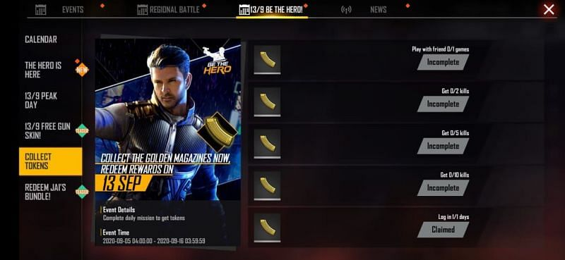 How to collect Golden Magazines in Free Fire