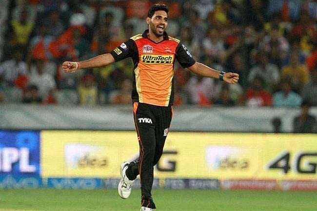 Bhuvneshwar Kumar is expected to lead the Sunrisers Hyderabad pace attack