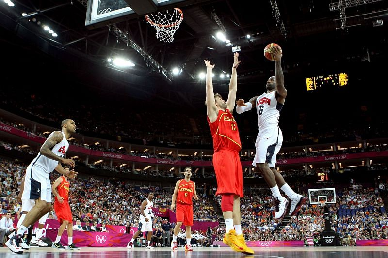 USA vs Spain - Olympics