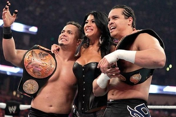 Primo and Epico are former WWE Tag Team Champions