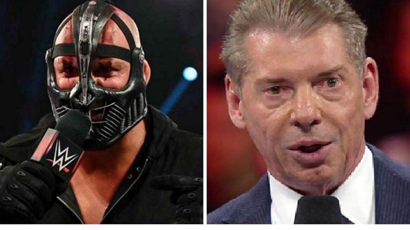 T-BAR (left); Vince McMahon (right)