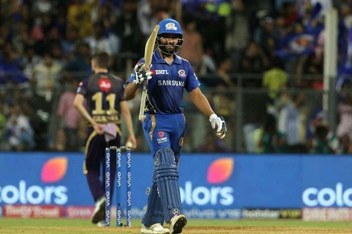 Rohit Sharma was unlucky against KKR