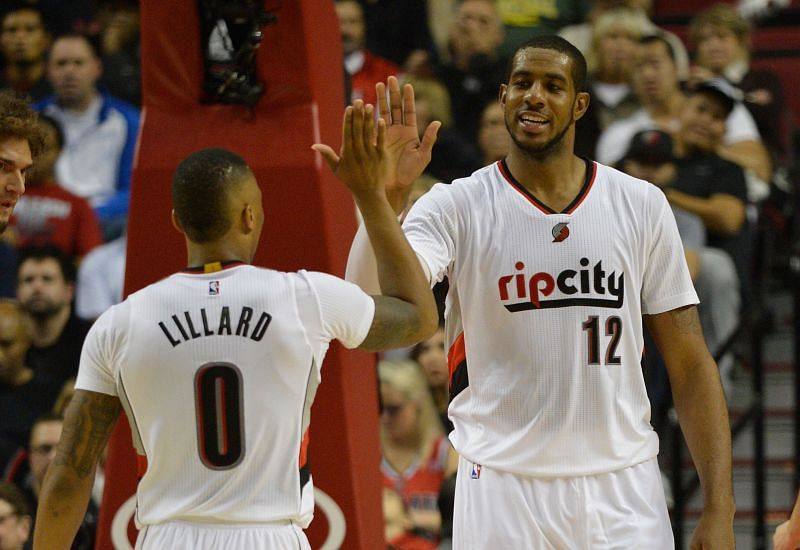 Lillard and Aldridge were an exciting pair back in the day