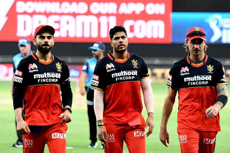Royal Challengers Bangalore lost to Kings XI Punjab in their second match of IPL 2020 (Image Credits: IPLT20.com)