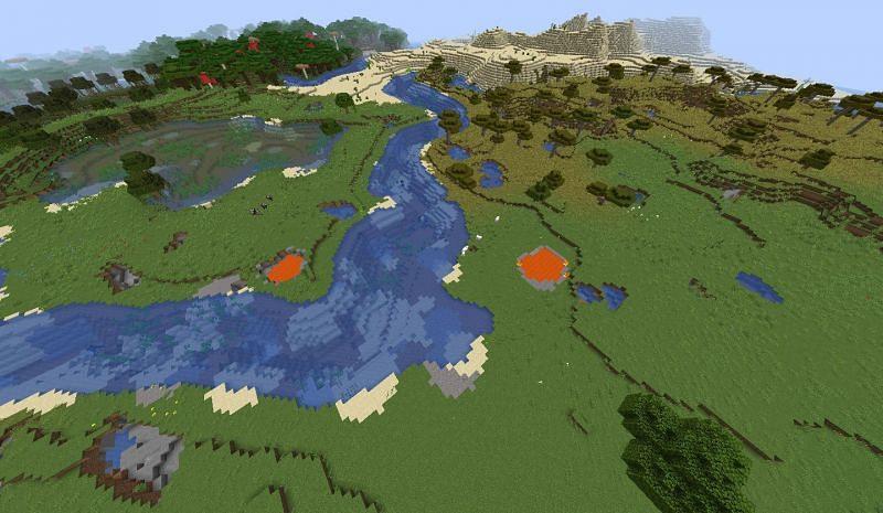 Plains Biome (Image credits: Minecraft-seeds.com)