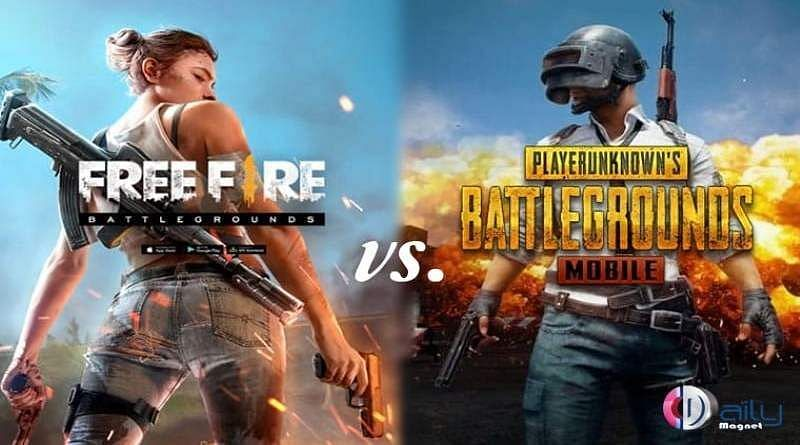 Free Fire vs PUBG Mobile: Which game has better performance? (Image credits: DailyMagnet)