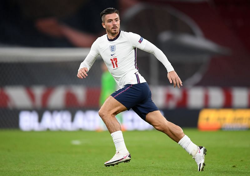 Jack Grealish impressed in his brief debut for England against Denmark in the Nations League.