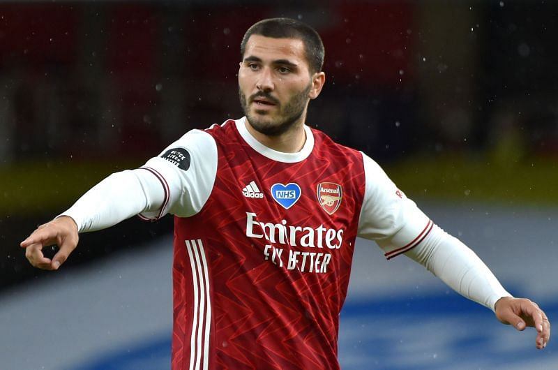 Sead Kolasinac did not have a great game for Arsenal
