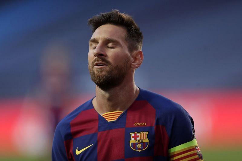 Barcelona captain Lionel Messi