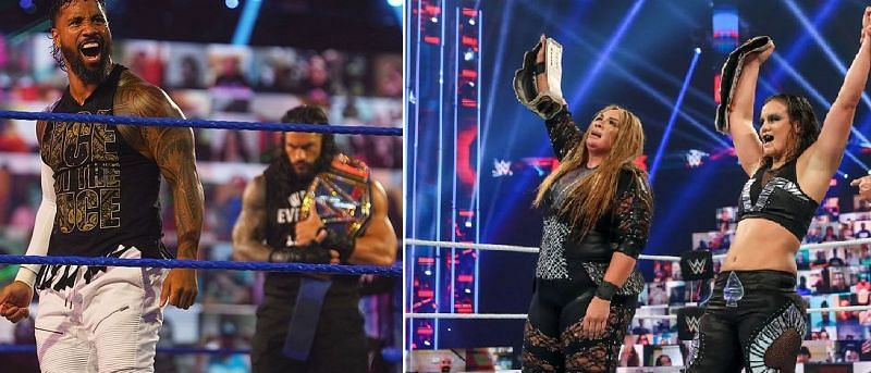 Many WWE stars can