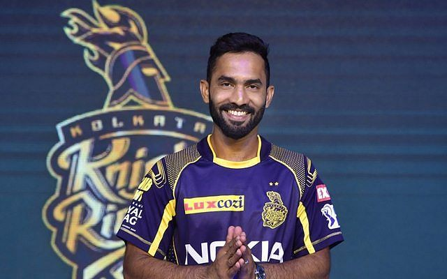 Dinesh Karthik said KKR would be missing their fans a lot this year. Image Credits: CricTracker