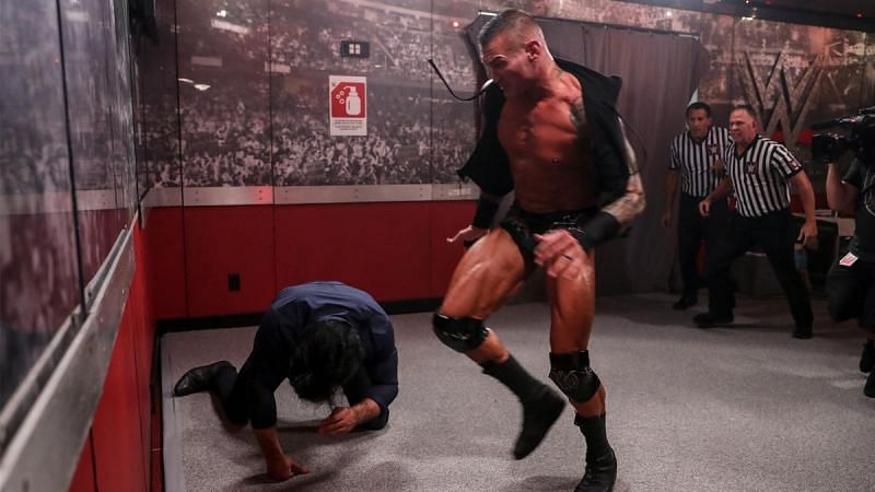 Randy Orton took out Drew McIntyre before Payback 2020