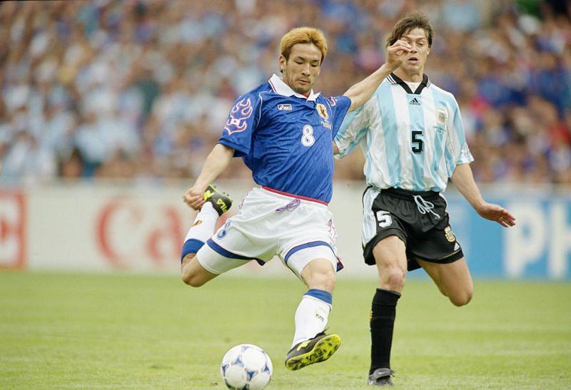 Hidetoshi Nakata.