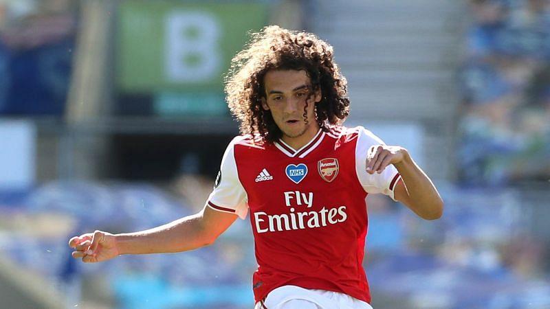 Arsenal midfielder Matteo Guendouzi