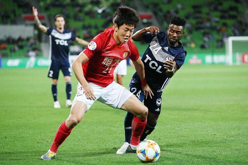 Guangzhou Evergrande will face Shanghai Shenhua on Thursday